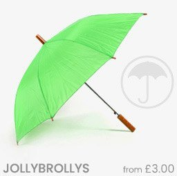Plain Jollybrolly Umbrellas