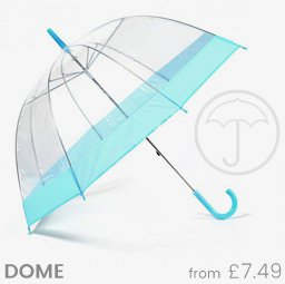 Clear Dome Umbrellas