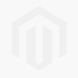 Red Falconetti Folding Windproof Clear Umbrella Side View